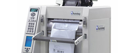 Autobag PS125 And OneStep Tabletop Bagger