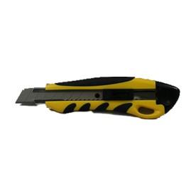 22001 Snap-Off Knife Retract 18Mm R.D. Yellow 24/Ctn