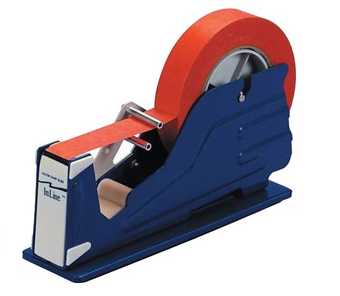 "1"" Deluxe Single Roll Tabletop Industrial Tape Dispenser 1/Ea"