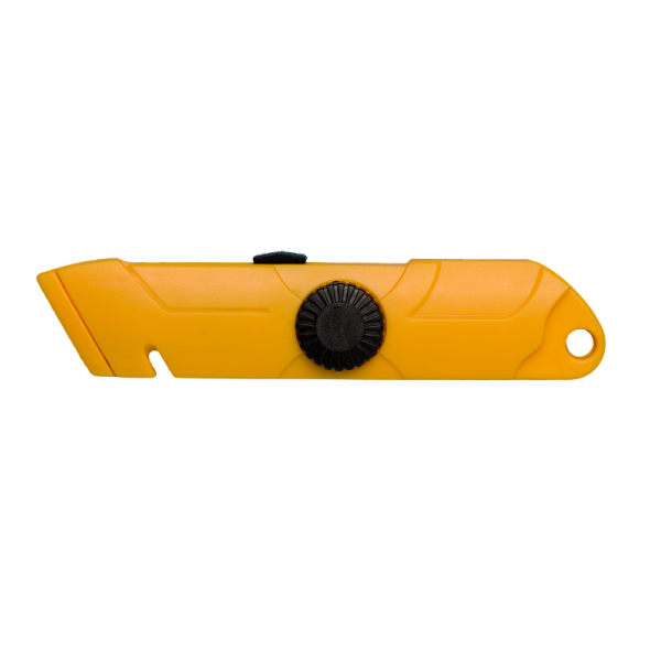 Auto-Retracting Utility Knife Plastic Body Qb Notch 12Ea/Ctn