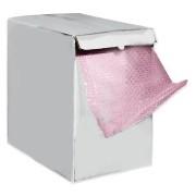 "1/2 X 12"" X 50' Perforated 12"" Anti-Static Bubblewrap Dispenser Box 1Rl"