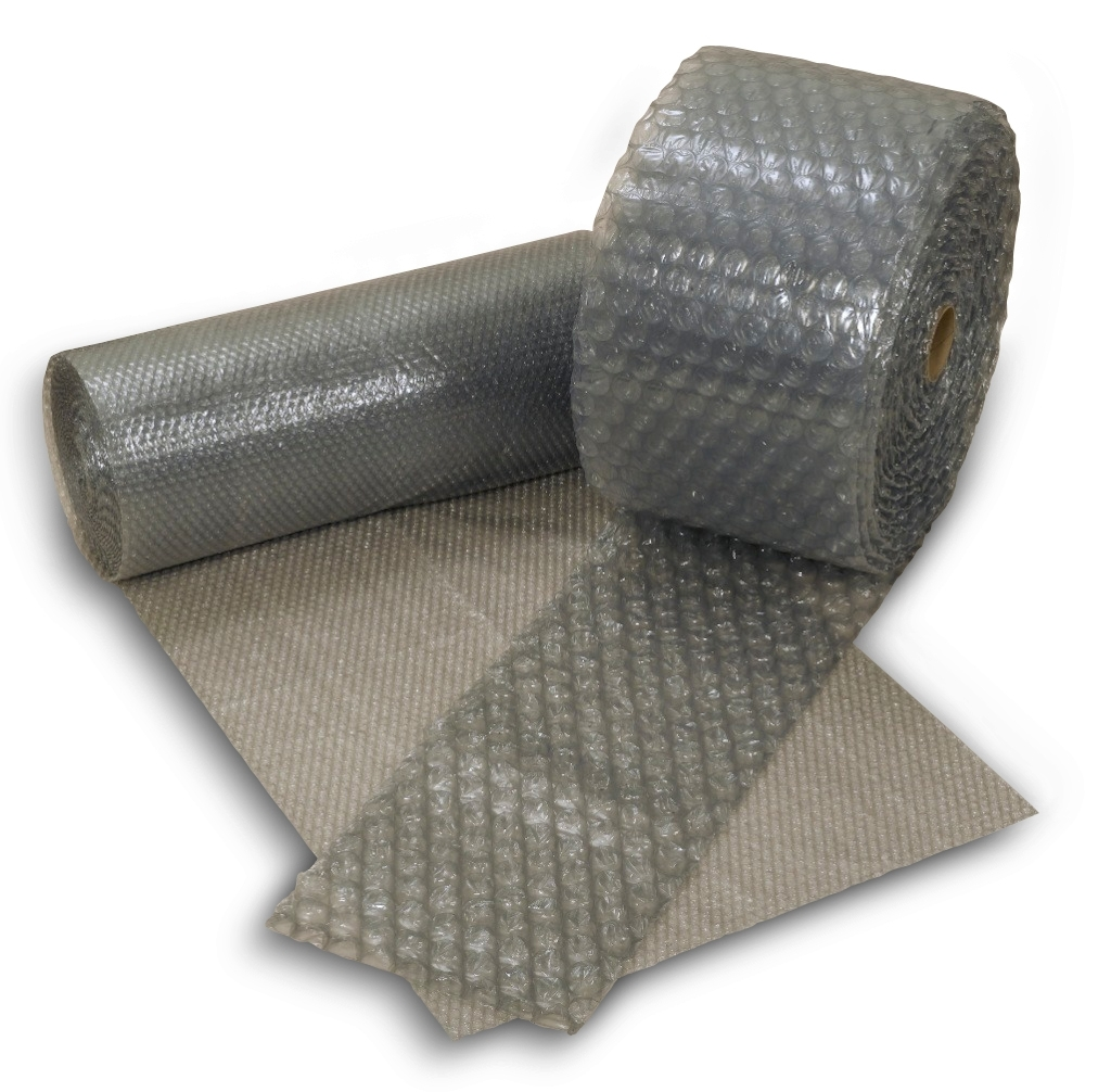 "1/2 X 12"" X 250' Perforated 12"" Recycled Bubblewrap 4Rl/Bn"