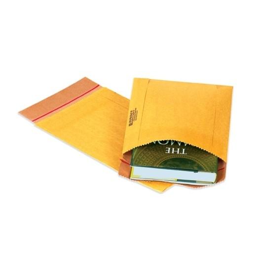 "10-1/2 X 14"" #5 Jiffy Rigi Kraft Natural Self-Seal Mailer 150/Cs"