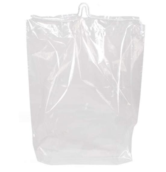 "10 X 12"" 2Mil Pull-Tite Double Drawstring Bag 1000/Cs"