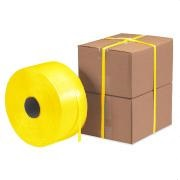 "1-1/2"" X 600' Polycord 4400# Yellow Regular Duty Woven 4Cl/Cs 12Cs/Plt"