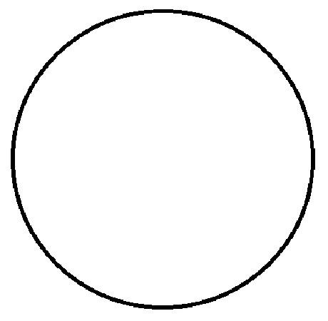 """1"""" Diameter Circle White Inventory Label 1000/Rl"""