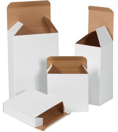 """12 X 11-3/4 X 3-1/4"""" White Corrugated Mailer 50/Bn 600/Plt"""
